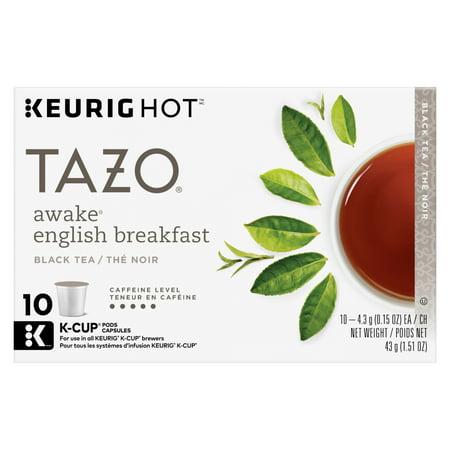 Tazo Awake English Breakfast Black Tea K-Cup 10ct ()
