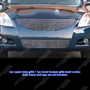 Fits 10-12 2010 2011 2012 Nissan Altima Sedan Billet Grille Combo