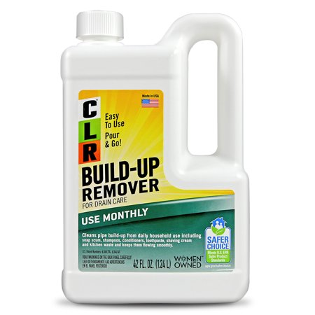 CLR Build-Up Remover Household Liquid Drain Care 42 Oz