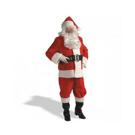 Kris Kringle Suit Adult Plus Costume