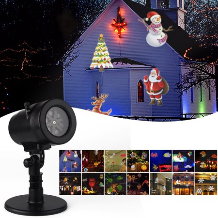 Shop For Cheap Christmas Led Projector Light Xmas Animation Led Projector Lights 10 Patterns Home & Garden