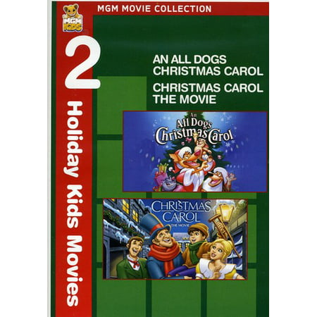 An All Dogs Christmas Carol / Christmas Carol (DVD) (Rc2 Dvd)