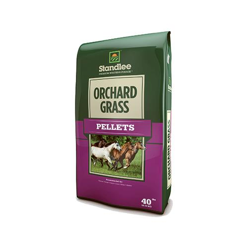 Standlee Hay 1375-30101-0-0 Forage, Orchard Grass Pellets...