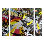 Trademark Fine Art 'Take Away' Multi-Panel Canvas Art Set by Dan Monteavaro