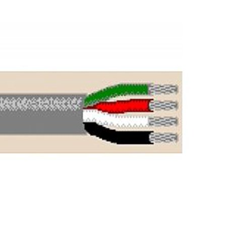 8489 750Ft 18 Awg 4C Stranded Non Shielded Communications And Control Cable Cl3 Cmg   Chrome Belden