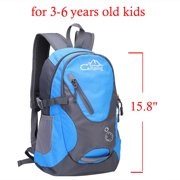"""Campingsurvivals 16"""" Kids Children Small Backpack, 20L Waterproof Travel Camping Rucksack School Book Bag for 3-6 Age Girls Boys Outdoor Sports,Blue"""
