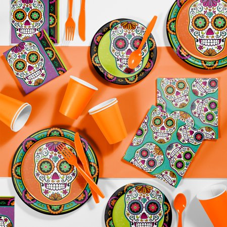Dia De Los Muertos Halloween Party Supplies Kit