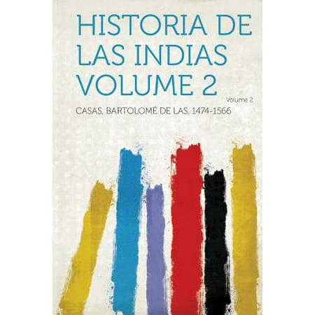 Historia de Las Indias Volume 2 (Historia De Halloween De Terror)