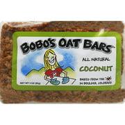 Bobo's Oat Bars All Natural Coconut Oat Bar, 3 oz, (Pack of 12)
