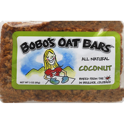 Bobo's Oat Bars All Natural Coconut Oat Bar, 3 oz, (Pack of 12)