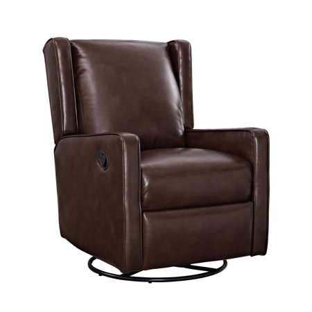 Dorel Living Jasper Swivel Gliding Recliner, Multiple Colors
