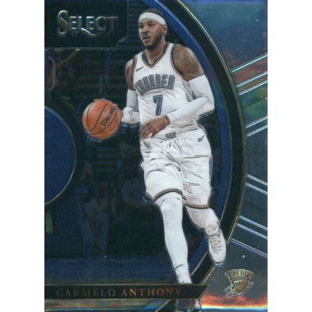 2017-18 Panini Select #97 Carmelo Anthony Oklahoma City Thunder Basketball Card