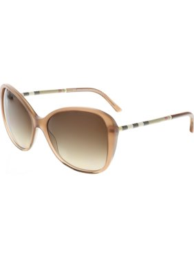 3f3f4aa73cf Product Image Burberry Women s Gradient BE4235Q-317313-57 Brown Oval  Sunglasses