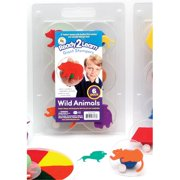 Center Enterprises Inc. Ce-6769 Ready2Learn Giant Wild Animals Stampers