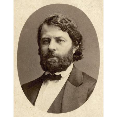 Joseph Joachim 1831 1907 Nhungarian Violinist And Composer Original Carte De Visite Photograph Poster Print By Granger Collection