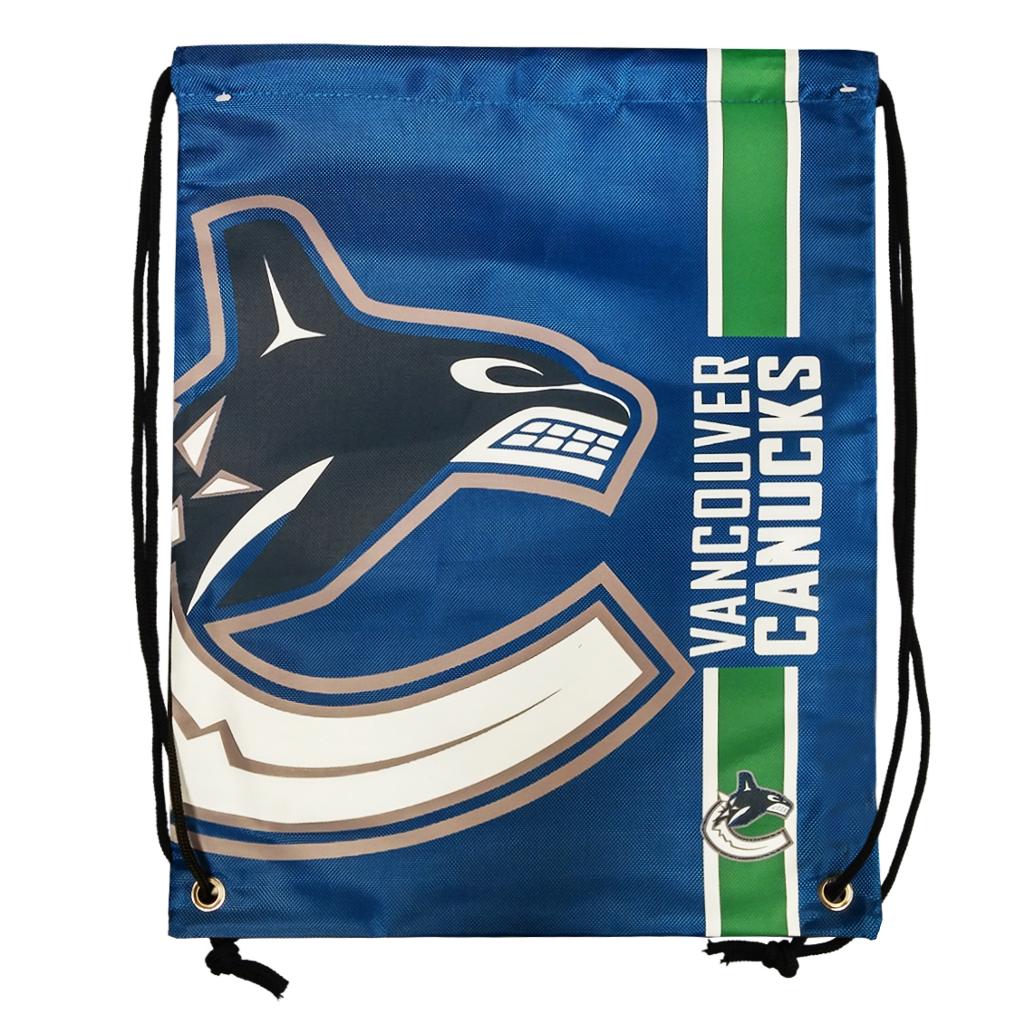 Forever Collectibles Vancouver Canucks Big Logo Drawstring Bag - image 1 of 1