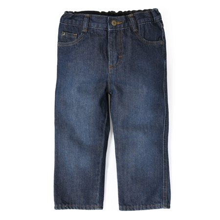 Baby Toddler Boy Relaxed 5-Pocket Jeans
