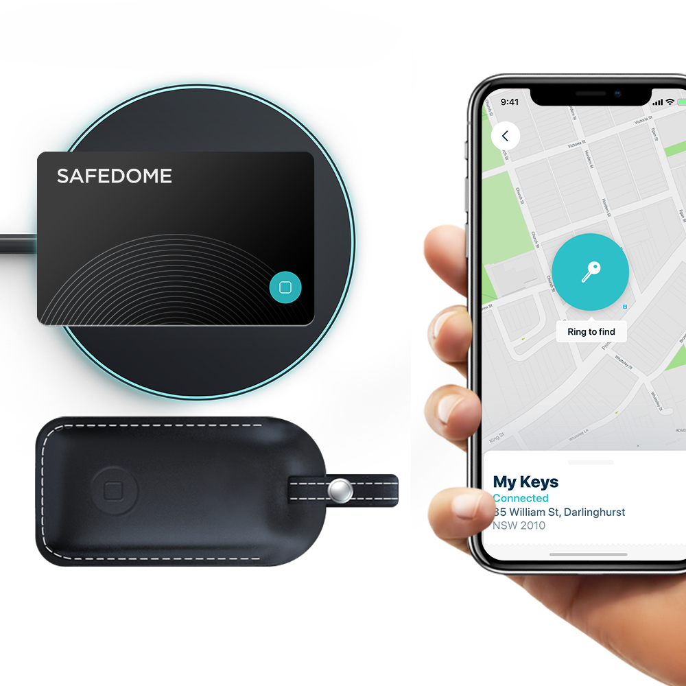 Gps Trackers Sports Outdoors Free Companion App Water Resistant Keychain Tracking Device Premium Leather Fob To Find Lost Car Or House Keys Or Phone Safedome Smart Key Locator With Bluetooth Tracker