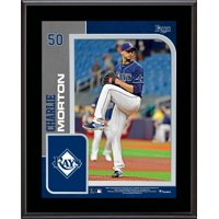 """Charlie Morton Tampa Bay Rays 10.5"""" x 13"""" Sublimated Player Plaque"""