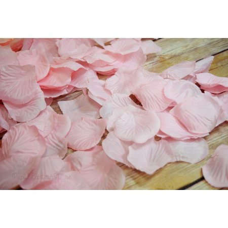 Quasimoon Pink Silk Rose Petals Confetti for Weddings in Bulk by - Silk Rose Petals Bulk