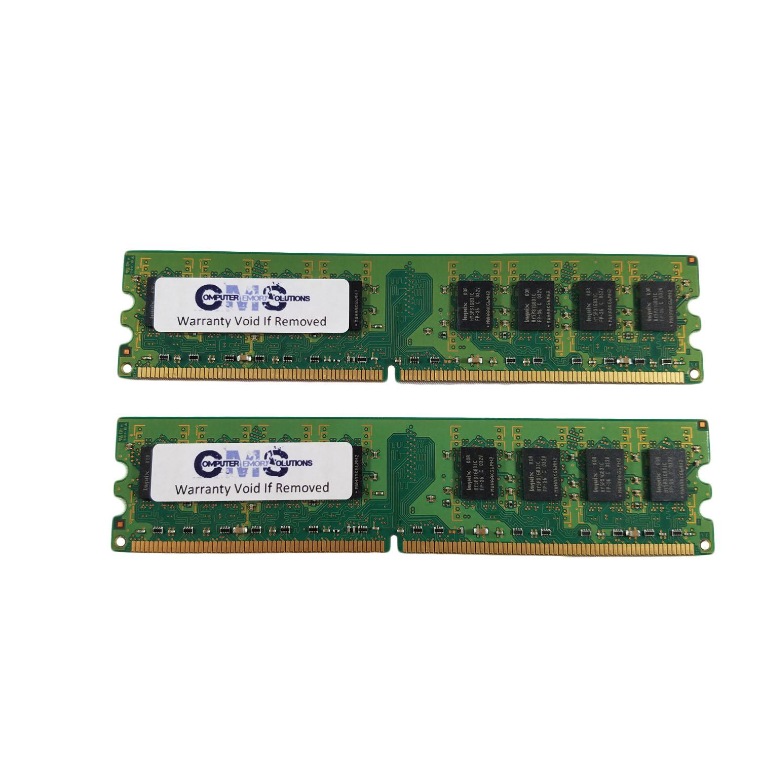 2Gb (2X1Gb) Ram Memory Compatible With Dell Optiplex 755 Dt / Mt / Sff By CMS A106