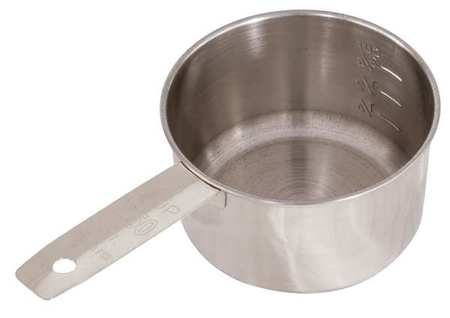 CRESTWARE MEACP1 4 Measuring Cup, SS, 1 4 Cup by Crestware