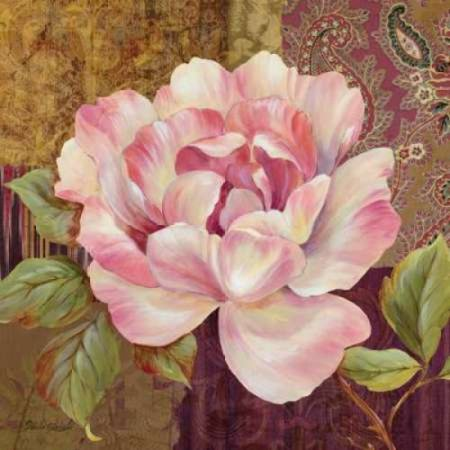 Pamela Gladding Tuscan Bouquet - Posterazzi Esperance Rose Canvas Art - Pamela Gladding (24 x 24)