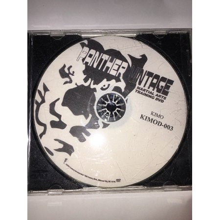 Panther Martial Arts - panther vintage martial arts dvd Training Kimo Kimod-003