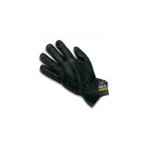 RapDom T18-PL-BLK-01 Leather Shooting Glove, Black, Small