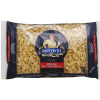 Racconto Broad Egg Noodles, 12 oz, (Pack of 12)