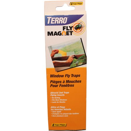 Victor M520CAN Window Fly Trap, 4 (72 Fly Box)