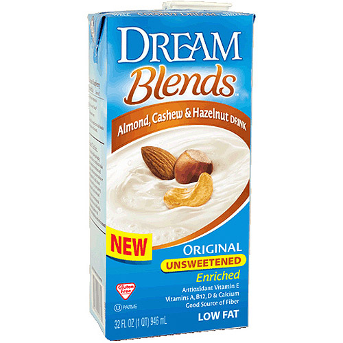Dream Blends Original Unsweetened Enriched Almond, Cashew & Hazelnut Drink, 32 fl oz