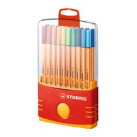 STABILO Pen 88 Marker Color Parade Set, Tabbed