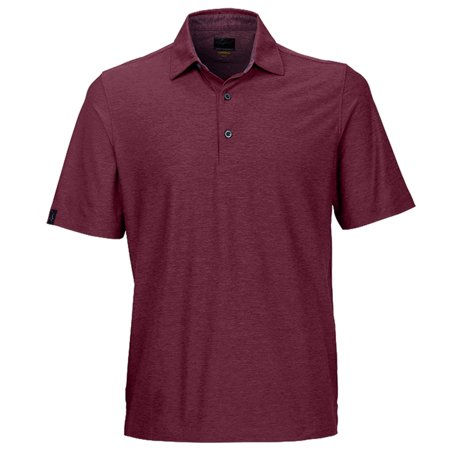 Greg Norman Heather Solid Golf Polo 2016
