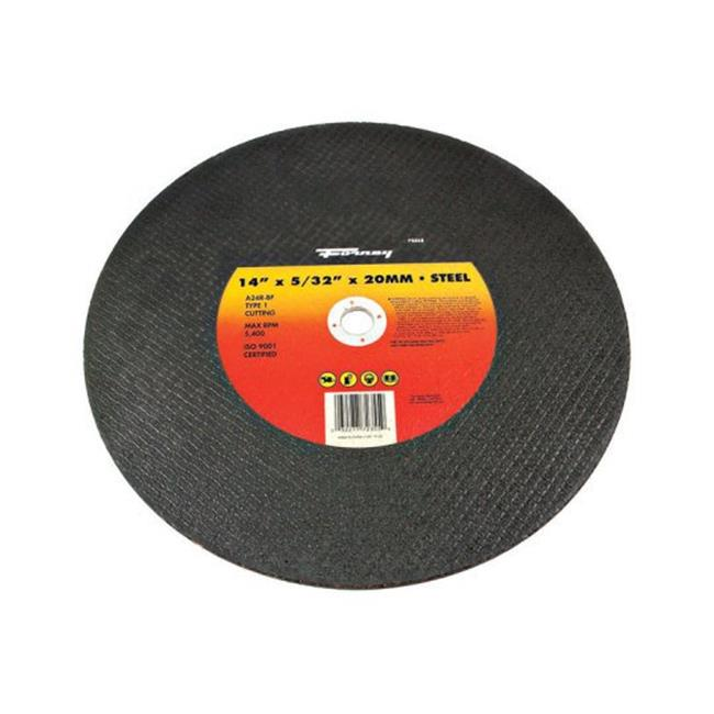 "14"" x 5/32"" A24R-BF Type 1 High Speed Metal w/20-MM Arbor Chop Saw Blade Forney"