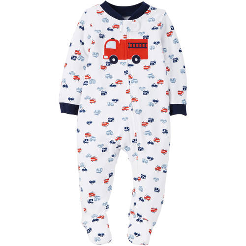 Child of Mine by Carter's Newborn Baby Boy Zip Up Sleep n' Play
