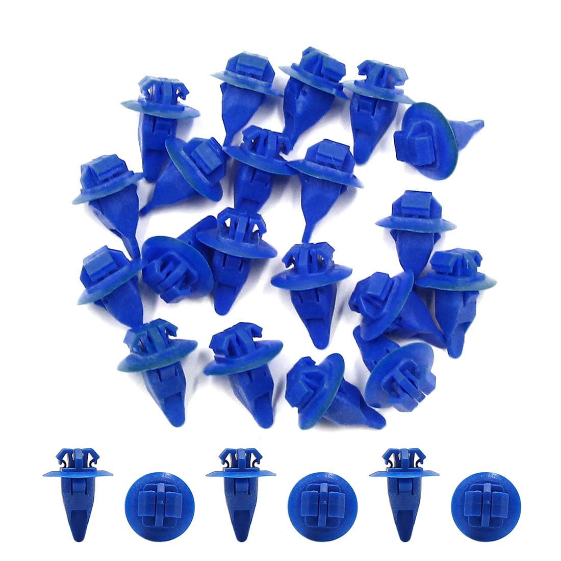 20Pcs 10 x 8mm Hole Plastic Splash Guard Trim Moulding Bumper Clips - image 1 de 2