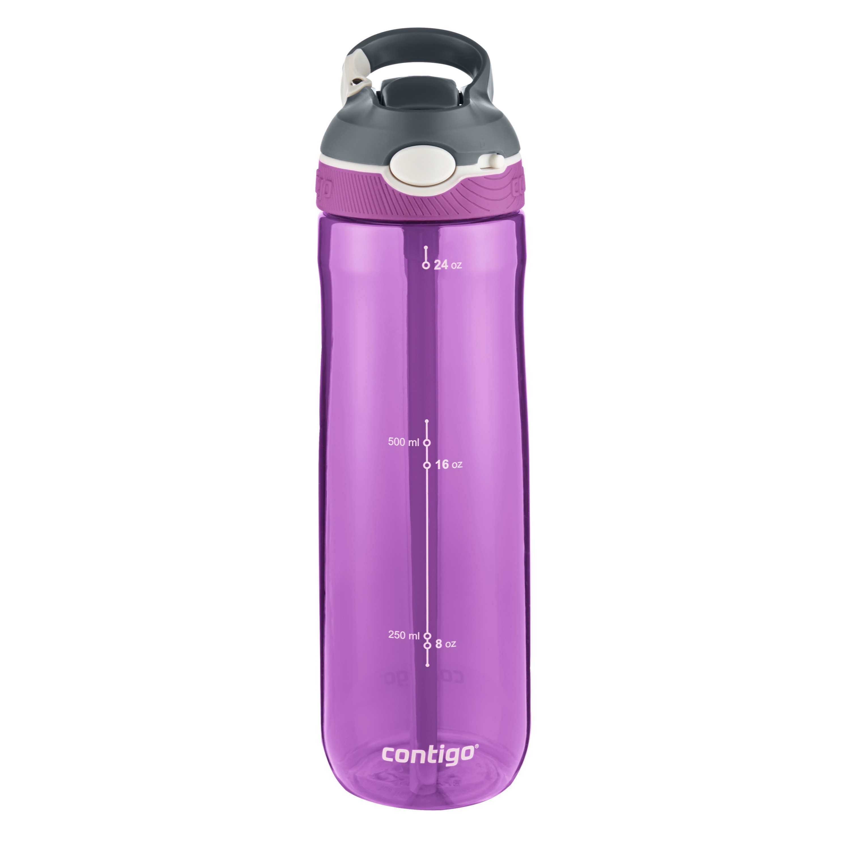 BPA-Free Grapevine Purple Contigo AUTOSPOUT Chug 32oz Plastic Water Bottle