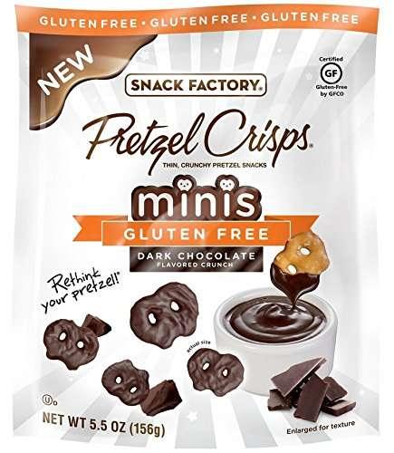 Snyder's - Lance Snack Factory Inc Snack Factory Pretzel Crisps Minis Gluten Free Dark