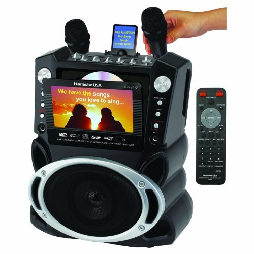"Karaoke Gf829 Dvd/cd g/mp3 g Karaoke System With 7"" Tft Color Screen And Record Function (gf829)"