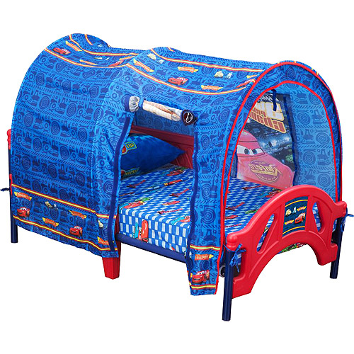 Disney Pixar Cars Toddler Bed with Tent by Disney