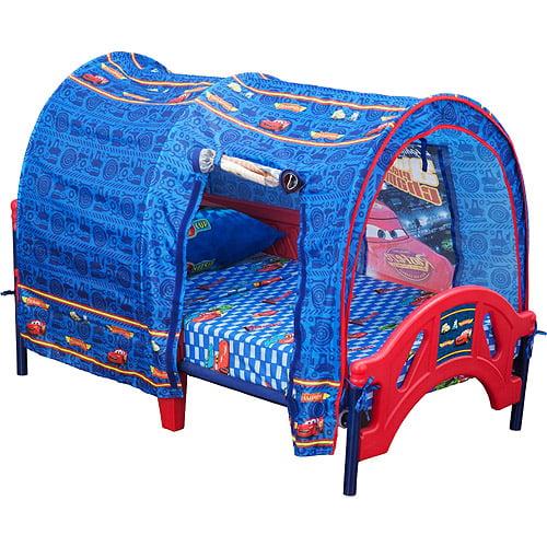 Disney Pixar Cars Toddler Bed With Tent Walmart Com