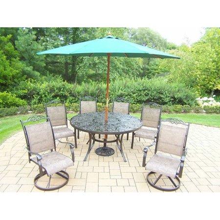 pc round patio dining set