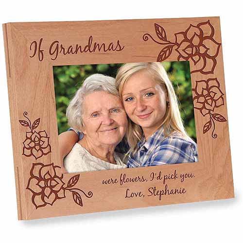 Personalized If Grandmas Were Flowers Frame, I Version