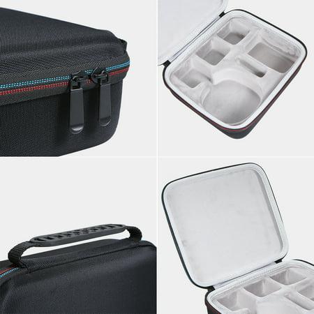 Hard EVA Case for Anki Cozmo Robot with Mesh Pocket and Dense Foam Storage Bag with Large Space - image 4 de 7