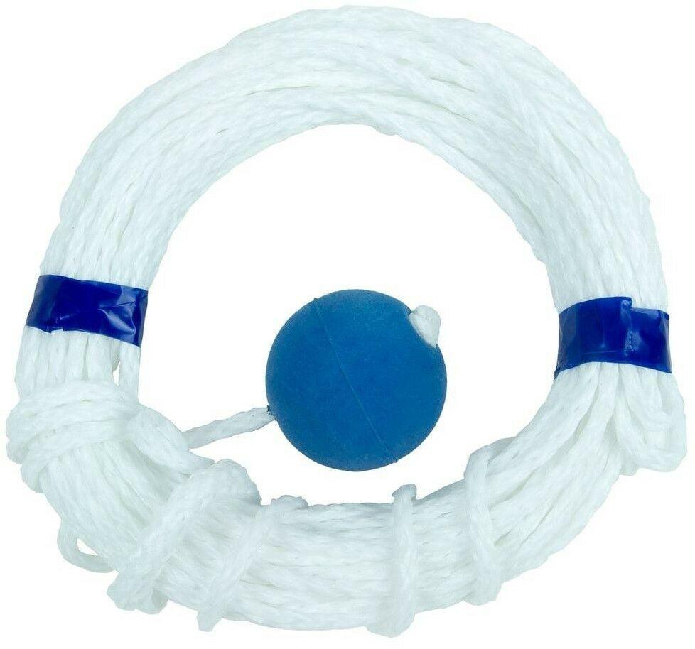 Pool Life Line Safety Swimming Rope Emergency Handle Loop Float Braided 60 ft