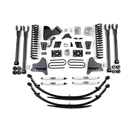4 Link Suspension Systems (BDS 1501H 11-12 F250/350 8in 4-Link System - Gas Suspension)