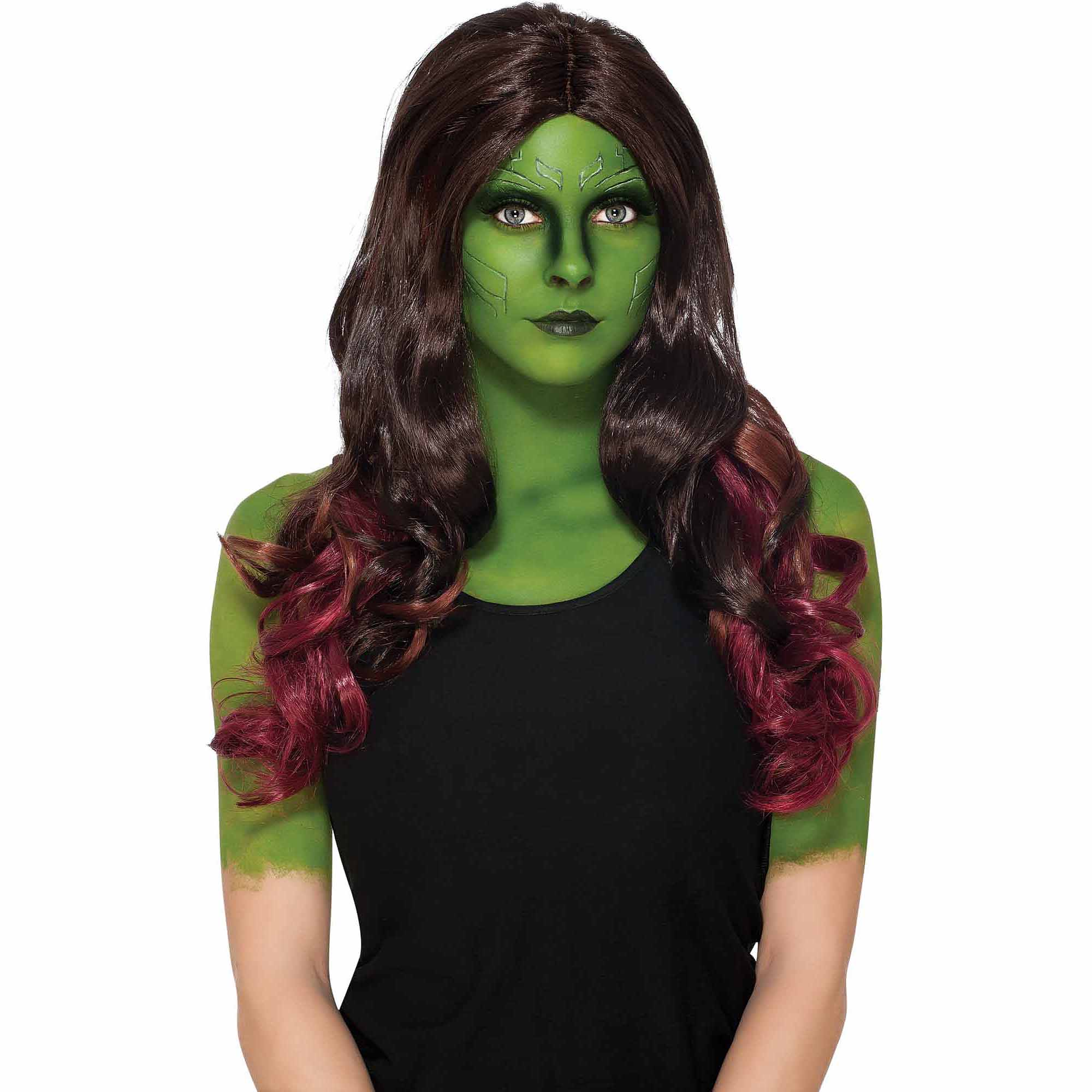 Gamora Wig Adult Halloween Accessory