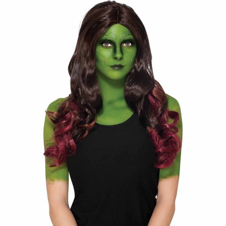 Gamora Wig Adult Halloween Accessory