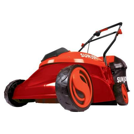 Sun Joe Mj401c Xr Red 28v 5 Ah Cordless Lawn Mower With